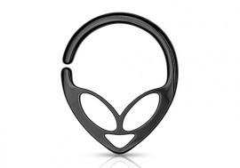 Piercing anneau alien blackline
