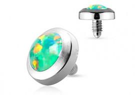 Microdermal opale verte