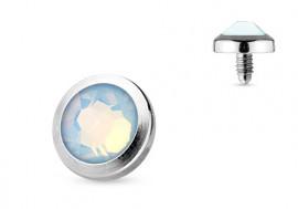 Microdermal opalite blanche