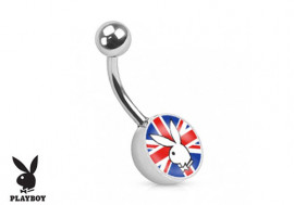 Piercing nombril Playboy® Union Jack
