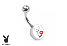 Piercing nombril Playboy® lapin bisou