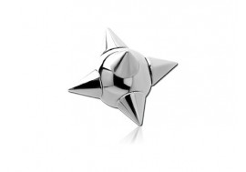 Piercing accessoire bille spike acier