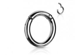 Piercing anneau clipper gros jonc