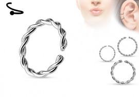 Piercing anneau cordage