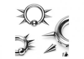 Piercing anneau BCR et spike