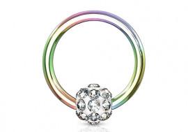 Piercing anneau BCR multistrass essence