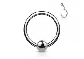 Piercing anneau à segment clippé BCR