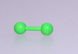 Piercing cartilage vert mat