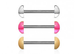 Piercing barbell ultra discret