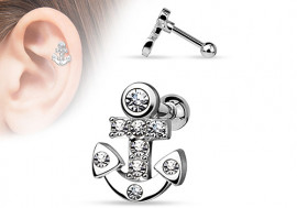 Piercing cartilage ancre
