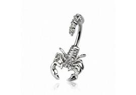 Piercing de nombril scorpion