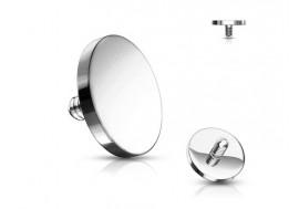 Piercing dermal disque 4mm