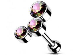 piercing hélix cluster vitrail