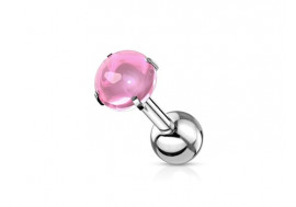 Piercing cartilage zircon rose