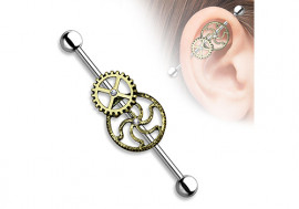 Piercing industriel engrenage