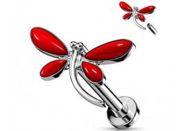 Piercing hélix libellule