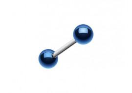 Piercing barbell Bille bleue