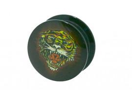 Piercing plug boite tigre