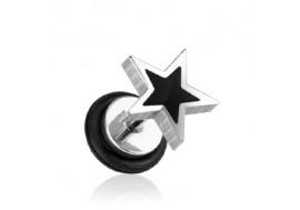 Faux plug étoile noire