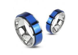 Bague en acier double anneaux