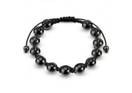 Bracelet Shamballa perles hématites