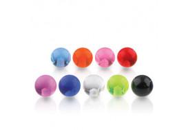 Accessoire acrylique 1,2mm coloré