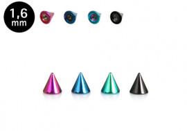Spike acier coloré 5mm