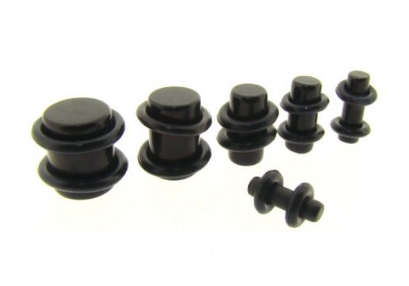 Plug black du 1.6mm au 37mm !!