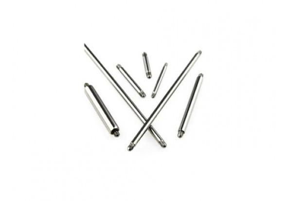 Piercing accessoire barbell 1.6mm
