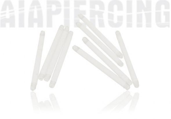 Tige droite transparente 1,6x16mm