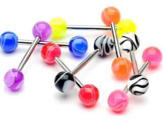 Piercing materiaux acrylique
