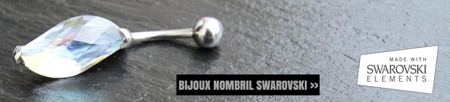 bijoux avec cristaux de Swarovski
